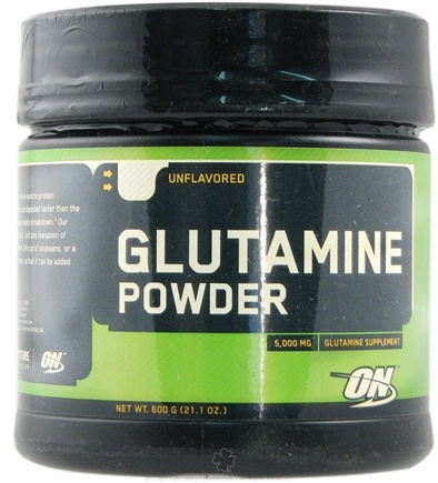 DROPPED: Optimum Nutrition - Glutamine Powder Unflavored - 600 Grams CLEARANCED PRICED