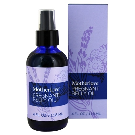 DROPPED: Motherlove - Pregnant Belly Oil - 4 oz.