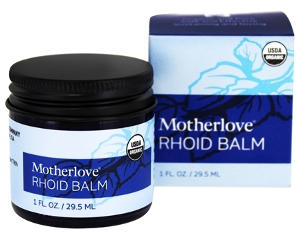 Motherlove - Rhoid Balm - 1 oz.