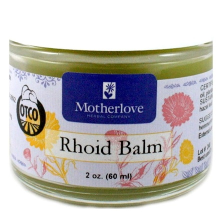 DROPPED: Motherlove - Rhoid Balm - 2 oz.