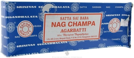 DROPPED: Nag Champa - Satya Sai Baba Incense - 250 Grams CLEARANCE PRICED