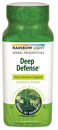 DROPPED: Rainbow Light - Deep Defense Astragalus & Ligustrum - 90 Tablets