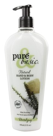 Pure & Basic - Natural Hand & Body Lotion Revitalizing - 12 oz.