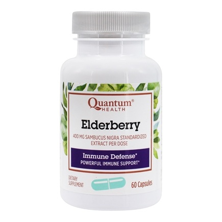 Quantum Health - Elderberry Immune Defense Extract - 60 Capsules