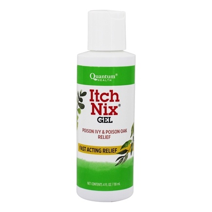 DROPPED: Quantum Health - Itch Nix Herbal Relief for Poison Ivy and Oak - 4 oz. CLEARANCE PRICED