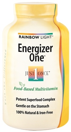 DROPPED: Rainbow Light - Energizer One Multivitamin - 90 Tablets