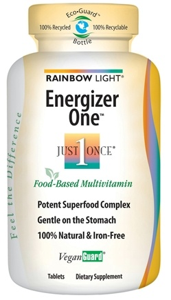 DROPPED: Rainbow Light - Energizer One Multivitamin - 30 Tablets CLEARANCE PRICED