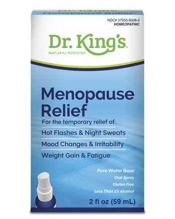 King Bio - Homeopathic Natural Medicine Menopause Relief - 2 oz.
