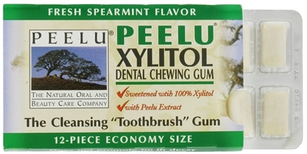 DROPPED: Peelu - Dental Chewing Gum Spearmint Flavor - 12 Piece(s)