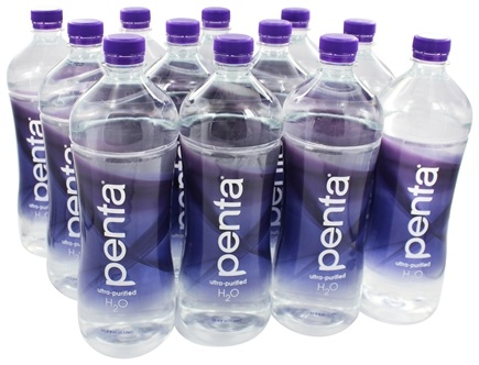 Penta - Ultra-Purified Antioxidant Water 33.8 fl oz. (1 Liter) - 12 Bottle(s)