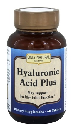 Only Natural - Hyaluronic Acid Plus 814 mg. - 60 Tablets