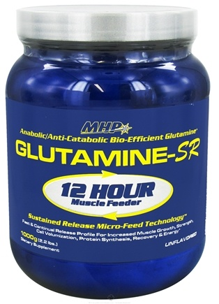 DROPPED: MHP - Glutamine-SR 12 Hour Muscle Feeder - 2.2 lbs. CLEARANCE PRICED