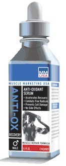 DROPPED: Muscle Marketing USA, Inc - Anti-Ox Serum Male Cherry - 5 oz.