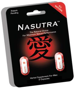 DROPPED: Nasutra, LLC. - Herbal Supplement For Men - 2 Capsules