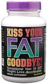 DROPPED: Hot Stuff Nutritionals - Kiss Your Fat Goodbye - 56 Capsules CLEARANCE PRICED