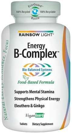 DROPPED: Rainbow Light - Energy B-Complex - 45 Tablets CLEARANCE PRICED