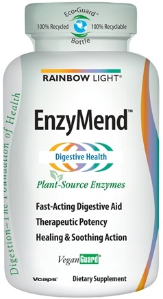 DROPPED: Rainbow Light - EnzyMend Digestive Aid - 90 Vegetarian Capsules