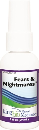 DROPPED: King Bio - Homeopathic Natural Medicine Fears & Nightmares - 2 oz. CLEARANCE PRICED
