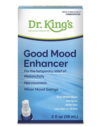 King Bio - Homeopathic Natural Medicine Good Mood Enhancer - 2 oz.