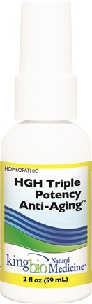 DROPPED: King Bio - Homeopathic Natural Medicine HGH -Triple Potency Anti-Aging Formula - 2 oz.