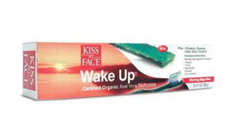 DROPPED: Kiss My Face - Wake Up Certified Organic Aloe Vera Toothpaste Berry - 3.4 oz.