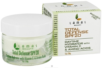 DROPPED: Lamas Botanicals - Total Defense Daytime Hydrator 20 SPF - 1 oz.