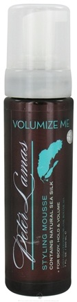 DROPPED: Lamas Botanicals - Volumize Me Sea Silk Styling Mousse - 7.5 oz.