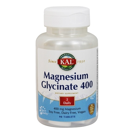 Kal - Magnesium Glycinate 400 - 90 Tablets