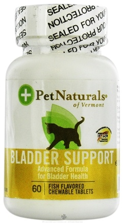 DROPPED: Pet Naturals of Vermont - Bladder Support for Cats - 60 Chewable Tablets