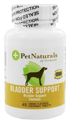 DROPPED: Pet Naturals of Vermont - Bladder Support for Dogs - 45 Tablets