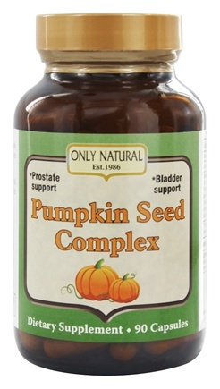 Only Natural - Pumpkin Seed Complex 700 mg. - 90 Capsules