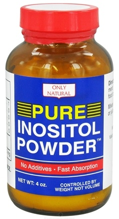 DROPPED: Only Natural - Pure Inositol Powder - 4 oz. CLEARANCE PRICED