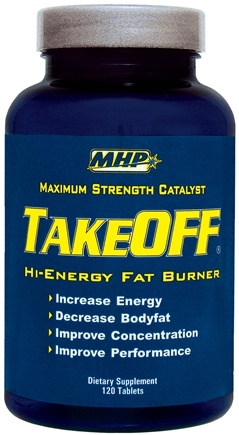 DROPPED: MHP - Take Off Hi-Energy Fat Burner - 120 Tablets