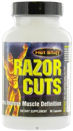 DROPPED: Hot Stuff Nutritionals - Razor Cuts - 90 Capsules