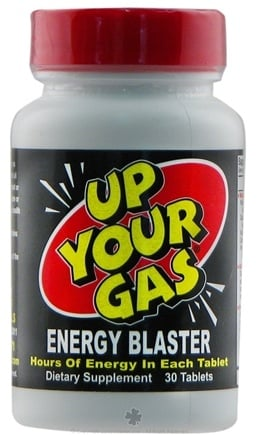 DROPPED: Hot Stuff Nutritionals - Up Your Gas Energy Blaster - 30 Tablets