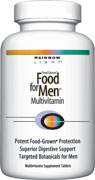 DROPPED: Rainbow Light - Food for Men Multivitamin - 90 Tablets