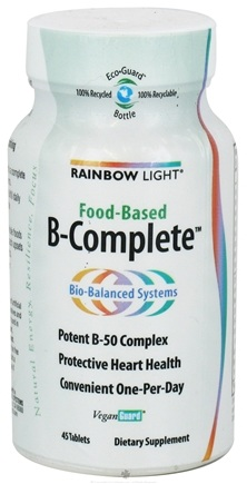DROPPED: Rainbow Light - Food-Based B-Complete - 45 Tablets CLEARANCE PRICED