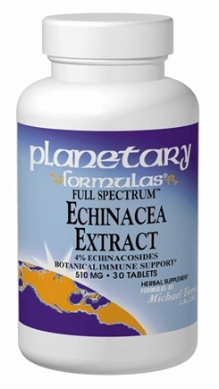 DROPPED: Planetary Herbals - Full Spectrum Echinacea Extract - 2 oz. Formerly Planetary Formulas