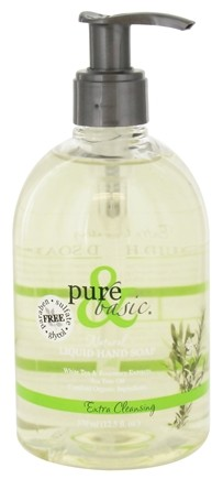 DROPPED: Pure & Basic - Liquid Hand Soap Extra Cleansing - 12.5 oz.