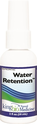 DROPPED: King Bio - Homeopathic Natural Medicine Water Retention - 2 oz.