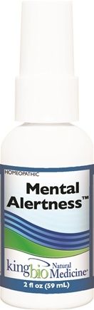 DROPPED: King Bio - Homeopathic Natural Medicine Mental Alertness - 2 oz. CLEARANCE PRICED