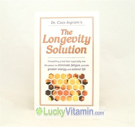 DROPPED: Knowledge House Publishers - The Longevity Solution:  The Amazing Power of Royal Jelly by Dr. Cass - 1 Book