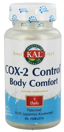 DROPPED: Kal - Cox-2 Control Body Comfort - 60 Tablets