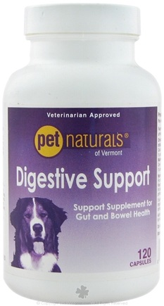 DROPPED: Pet Naturals of Vermont - Digestive Support for Dogs - 120 Capsules