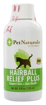 DROPPED: Pet Naturals of Vermont - Hairball Relief Plus Support Skin & Hair Health - 4 oz.