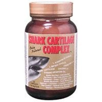 DROPPED: Only Natural - Shark Cartilage Complex - 60 Capsules