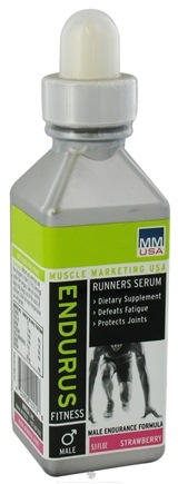 DROPPED: Muscle Marketing USA, Inc - Male Endurus Runner Strawberry - 5.1 oz.