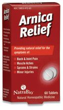 DROPPED: NatraBio - Arnica Relief - 60 Tablets