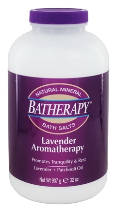 Queen Helene - Batherapy Mineral Bath Salts Lavender - 2 lbs.