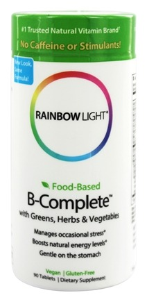 Rainbow Light - Food-Based B-Complete - 90 Tablets
